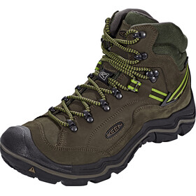Keen Galleo Mid WP Shoes Men Black/Greenery